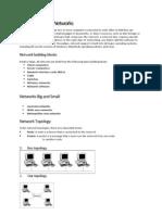 Resume Instalasi Lan (Pengertian Jaringan)