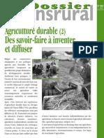 Dossier Transrural_Agriculture Durable