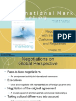 International Marketing Chapter 19 (Negotiating With