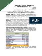 Pge 2011 Tema Educacion Superior