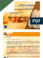 TMO Régions - CG 22 Démarche Côtes d'Armor 2020 - Enquête Auprès Des Elus