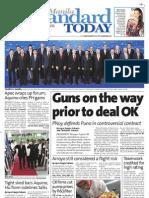 Manila Standard Today -- Monday (September 10, 2012) issue
