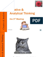 03. Critical & Analytical Thinking