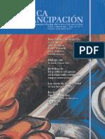 Crítica y Emancipación, nº 07, 2012