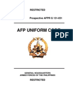 Afp Uniform Code