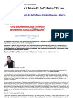 Domine La Oratoria Y Triunfe en Su Profesion Y en Los Negocios Download