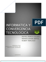 Tendencias Actuales de la Tecnología e Informática