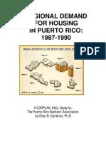 Regional Demand for Housing