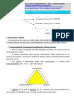Direito Administrativo - CONCESSÃO E PERMIÇÕES