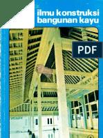 Ilmu Konstruksi Bangunan Kayu