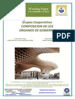 Grupos Cooperativos. COMPOSICION DE LOS ORGANOS DE GOBIERNO (Es) Co-operative Groups. COMPOSITION OF THE CORPORATE BODIES (Es) Kooperatiben Taldeak. AGINTE-ORGANOEN ERAKETA (Es)