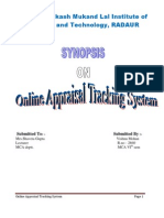 Appraisal Tracking System