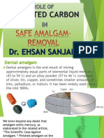 Activated Carbon & Safe Amalgam-removal