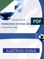 hemmoroid ppt