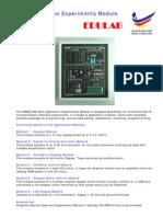 MAEM-600 Multi Application Experiments Module