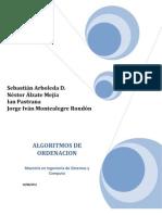 Proyecto Final Algoritmia