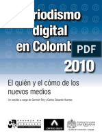 Periodismo digital en Colombia 2010