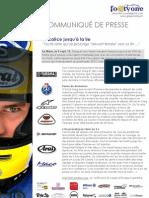 Communiqué Le Mans FR