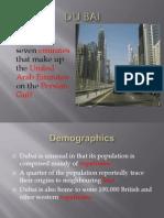 951 大一英文學生報告DUBAI