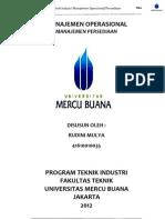 Rudini Mulya _ Manajemen Operasional