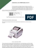 Imprimindo LP2844 c#