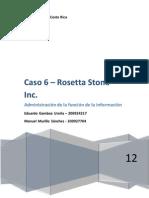 Caso 6 - Rosetta Stone
