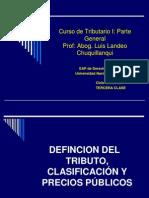Curso de Tributario I Parte General 3RA CLASE 2012