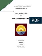 E-Marketting Paper Presentation