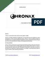 Company Profile-Chronax