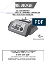 Black & Decker 10 Amp Battery Charger