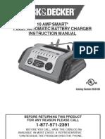 Black & Decker 10 Amp Battery Charger