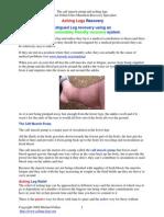 Aching Legs Article