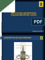 Sesion 01 y 02 Instalaciones Electricas