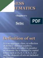 Business Mathmatics 1st Chapter
