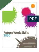 Future Work Skills for 2020