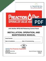 Manual Preaction-Pac -00B Version 1.1