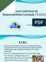 E.I.R.L (Derecho)
