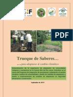 documento de Sistematización del programa de adaptacion al cambio climatico Cauca Colombia