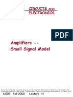 Electronica Amplifiers - Small Signal Model (1)
