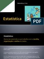 Estatistica Lurdes