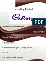 Marketing Project - Cadbury Kiosk