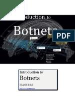 Intro to Botnets - Bilal ZIANE