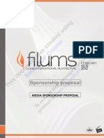 FiLUMS Media Sponsorship Proposal