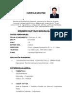 CV - Eduardo Segura
