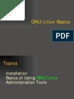 Gnu Linux Basics