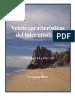 49879387 20 Caracteristicas Del Lider Cristiano