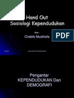 Hand Out Sos Kependudukan PDF