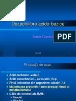 Dezechilibre acido-bazice