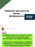 Multiplexion de Canales de Datos Y Voz