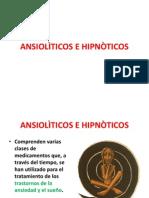 ANSIOLÌTICOS E HIPNÒTICOS